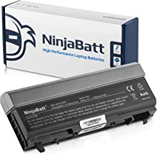 NinjaBatt Laptop Battery For Dell Latitude E6400 E6410 E6510 E6400 E6500 Precision M2400 M4400 M4500 MP303 PT650 MP490 4M529 PT434 312-0749 312-0748 312-0754 PP27L W1193 1M215 - [9 Cells/6600mAh/73Wh]