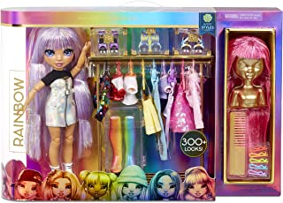 Rainbow High Fashion Studio – Includes Free Exclusive Doll with Rainbow of Fashions and 2 Sparkly Wigs to Create 300+ Look...