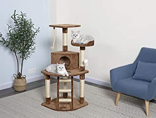 Go Pet Club Cat Tree Condo House, 32W x 25L x 47.5H Inches