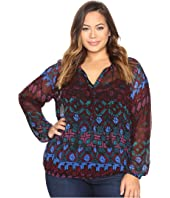 Lucky Brand - Plus Size Vibrant Button Down