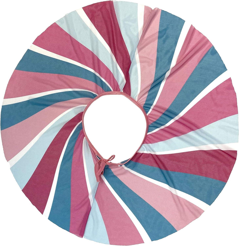 Pink Candy Swirl Dance Omaha Mall Mesh Nippon regular agency Circle Skirt-Custom Designed W