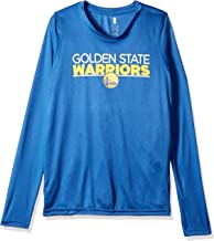 Outerstuff NBA NBA Youth Boys Golden State Warriors Tactical Stance Long Sleeve Performance Tee, Royal, Youth X-Large(18)