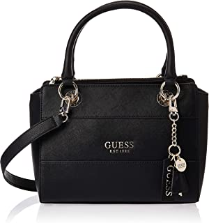 Guess Womens Satchels Bag, Black - VG767206