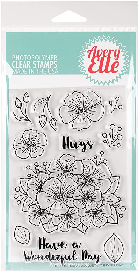 Avery Elle ST-17-20 Clear Stamp Set 4