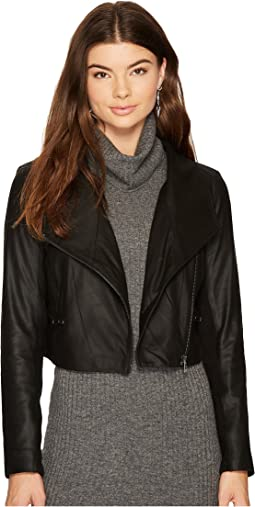 BB Dakota - Shiloh Cropped Leather Jacket