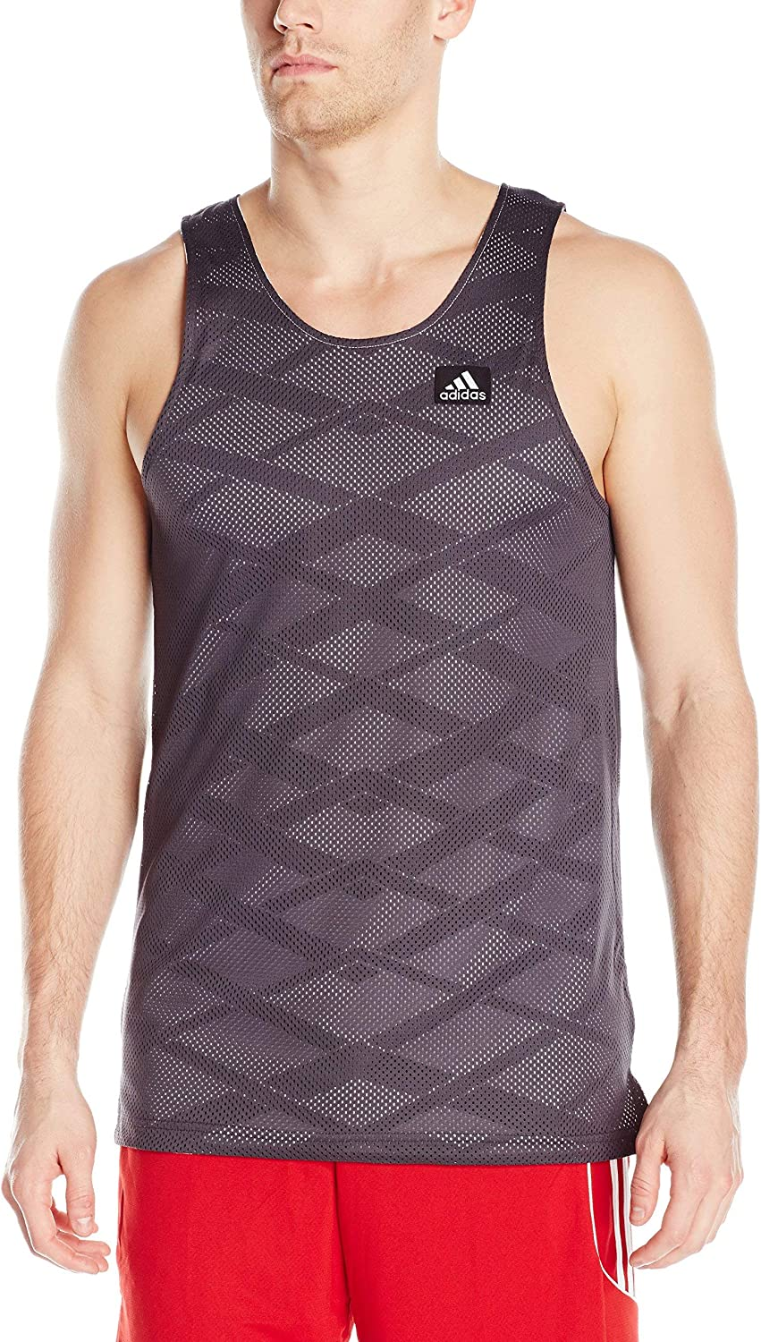 adidas High quality Men's Basketball Today's only ABL Reversible Tank Top