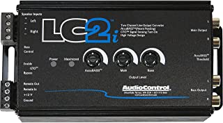 AudioControl LC2i 2 Channel Line Out Converter with AccuBASS and Subwoofer Control photo