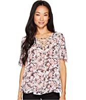 Tate Tie Front Blouse