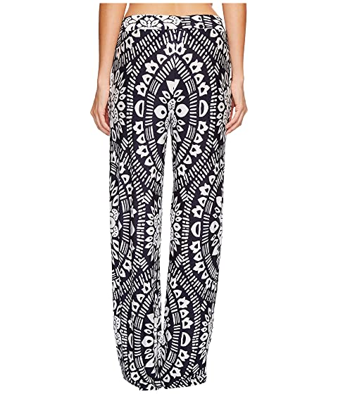 Sale Supply Outlet Excellent Trina Turk Indochine Wide Leg Pant Cover-Up Midnight View Cheap Online afXhx