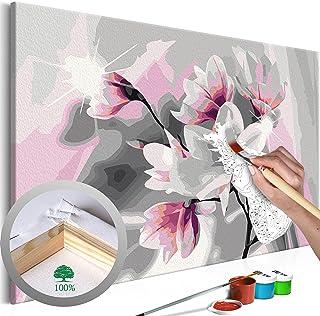 murando Peinture par Num/éro Adulte Kit Fleurs Coquelicot 150x60 cm 5 Pieces DIY Tableau Peindre par Nombre Bricolage pour Enfants Num/érique pour Enfants Cadre Home Decor n-A-0622-d-m