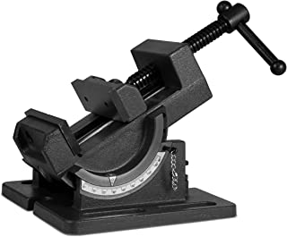 WEN 433TV 3.25-Inch Industrial Strength Benchtop and Drill Press Tilting Angle Vise