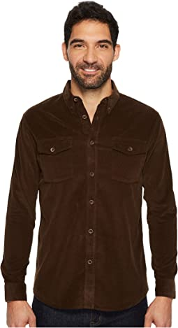 Quiksilver Waterman - Bells Point Long Sleeve Corduroy Shirt