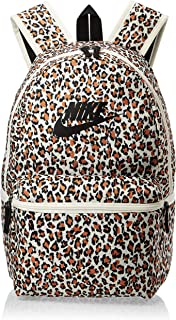 Nike Unisex-Adult Backpack, Pale Ivory/Black - NKBA5761