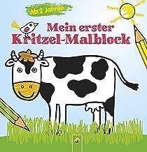 Mein erster Kritzel-Malblock: Malbuch für Kinder ab 2 Jahren
