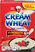 Cream of Wheat Original Stove Top Hot Cereal, 2 1/2 Minute Cook Time, 12 Ounce (Pack of 12)