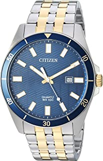 Men's ' Quartz Stainless Steel Casual Watch, Color:Two Tone (Model: BI5054-53L)