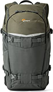 Lowepro Flipside Trek BP 350 AW Backpack for Camera - Grey/Dark Green