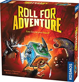 Roll for Adventure - A Kosmos Game from Thames & Kosmos | A Cooperative Dice-Rolling Fantasy Game for 2-4 Players, Ages 10+
