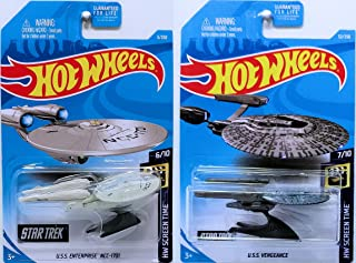 Hot Wheels 2019 HW Screen Time - Star Trek U.S.S. Enterprise NCC-1701 & U.S.S. Vengeance