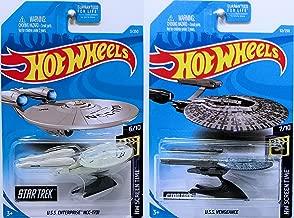 Hot Wheels 2019 HW Screen Time - Star Trek U.S.S. Enterprise NCC-1701 & U.S.S. Vengeance