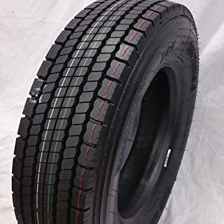 (1-TIRE) 265/70R19.5 H/16 NEW ROAD WARRIOR DRIVE ALL POSITION TIRES 16 PLY 24570195