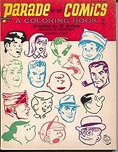 Parade of Comics Coloring Book #4544 1966-Peanuts-Dick Tracy-Mutt & Jeff-FM