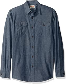 Authentics Men's Authentics Long Sleeve Classic Woven Shirt