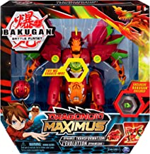 Dragonoid Maximus 8-Inch Transforming Figure with Lights and Sounds, Battery Included