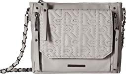 Quilted R Logo Crossbody