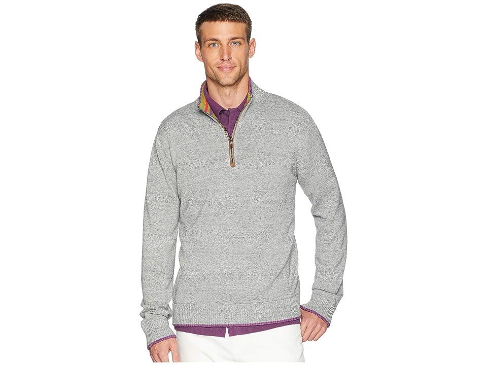 Robert Graham Cavalry Sweater (Medium Grey) Men