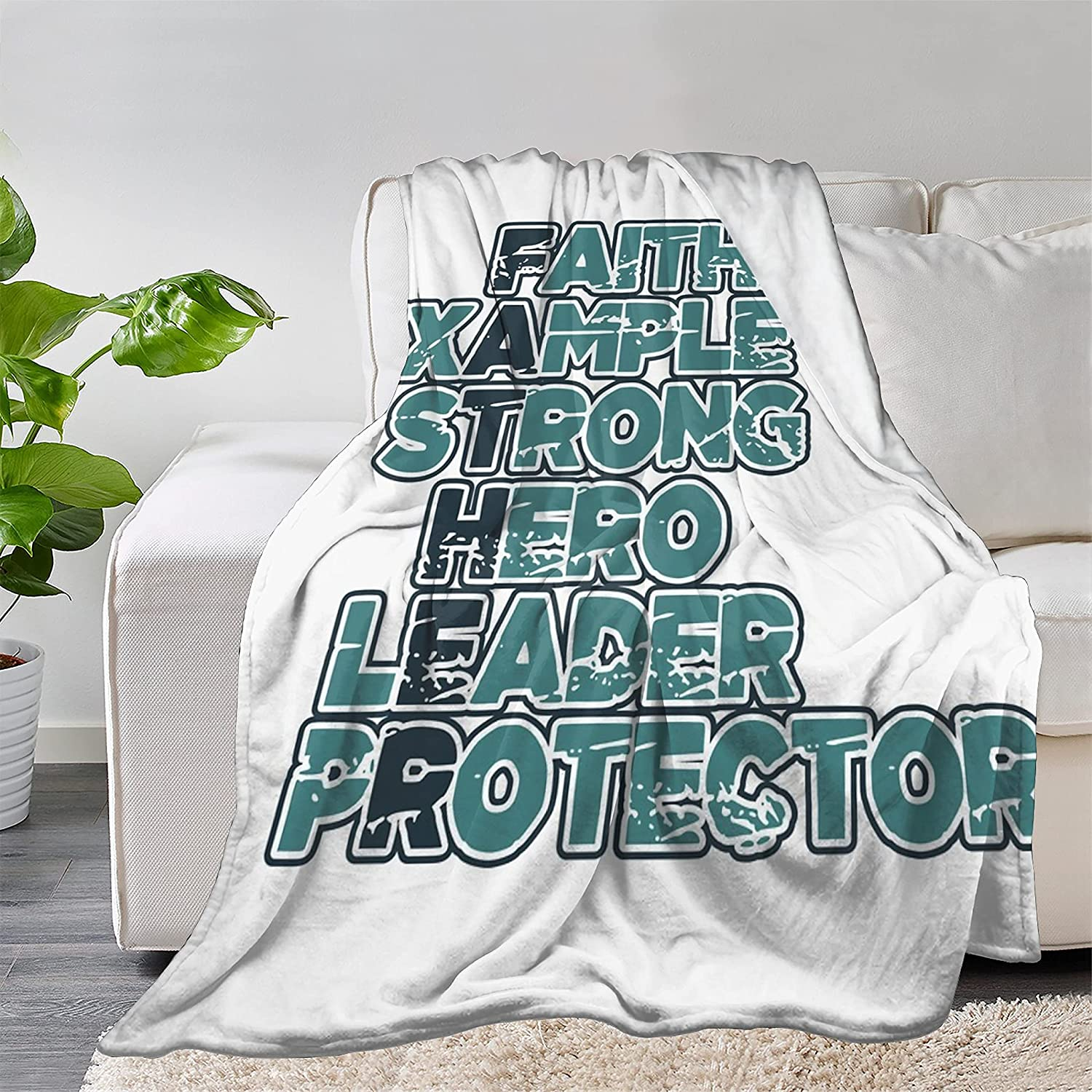 FUNDESIGN Hero Protector Funny Dad Save money Flannel Ultra Blanket Throw Bombing new work