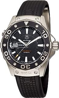 Men's WAJ2110.FT6015 Aquaracer Calibre 5 Automatic 500M Black Rubber Watch