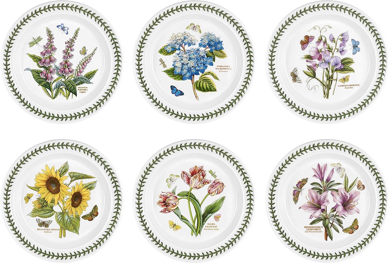 tienda en linea Portmeirion Botanic Garden - Juego de de de Platos (6 Unidades, 25 cm), diseo de Flores  para mayoristas