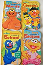 Sesame Street Board Books: Zoe's First Book of Seasons, Bert & Ernie's First Book of Opposites, Grover's First Day at School, Murray's First Book of Words (First Board Books)