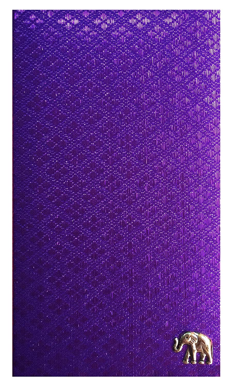 Handmade Purple Fabric Guest Checks Large discharge sale Presenters Book Surprise price Holder Check