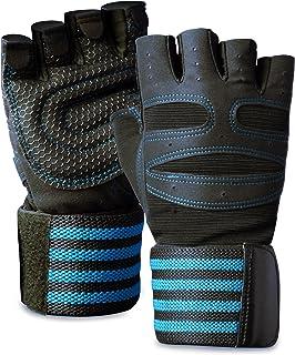 ACEFITS トレーニンググローブ ウェイトリフティング ジム グローブ 筋トレ 手首固定 リストラップ 付き