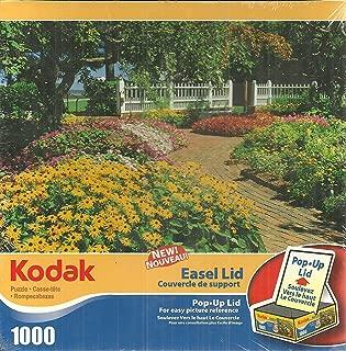 Kodak Prescott Park NH 1000 Piece Jigsaw Puzzle With Pop Up Easel Lid by Mega Brands