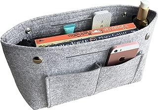 APSOONSELL Felt Tote Handbag Organizer Insert for Women