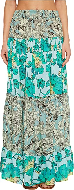 Tropic Terrain Long Skirt