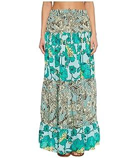 Tropic Terrain Long Skirt
