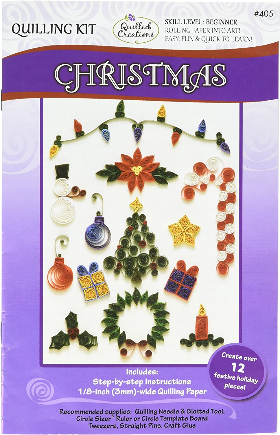 Quilled Creations Christmas Kit Memphis Max 53% OFF Mall Quilling