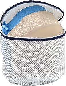 Sunbeam Bra Delicate Wash Laundry Bag, White