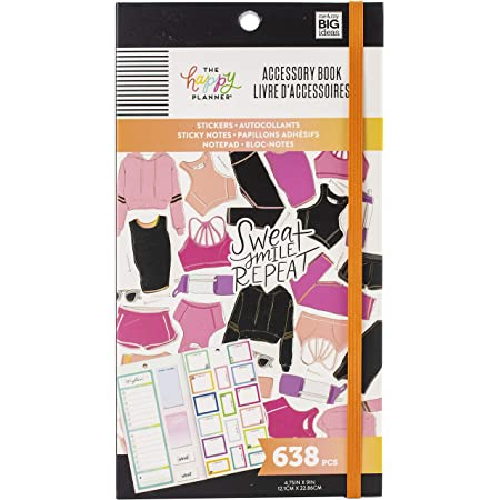 Fitness ME /& MY BIG IDEAS Accessory Book 638//Pkg One Size