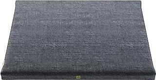 Mindful Modern Velvet Zabuton Meditation Mat - Luxurious Meditation Cushion Pillow with 100% Cotton Filling - Enjoy Better...