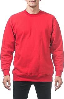 Pro Club Men's Heavyweight 13oz Crew Neck Fleece Pullover Sweatshirt