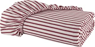 DELANNA Flannel Fitted Sheet 100% Brushed Cotton All Around Elastic 1 Fitted Sheet 39
