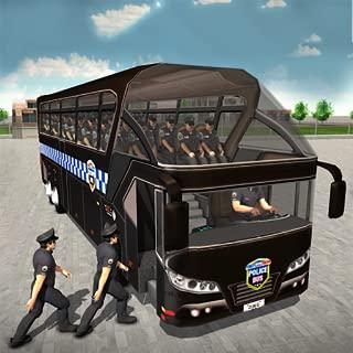 US Police Bus Driving Simulator Prison Transporter Game 2018 3D