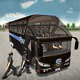 Simulador de conducción de autobuses de la policía de los Estados Unidos Prison Transporter Game 2018 3D
