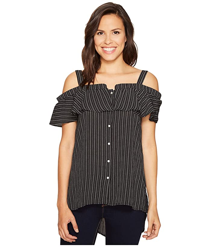 ROMEO & JULIET COUTURE 3/4 Sleeve Off Shoulder Strap Top