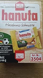 Ferrero Hanuta Chocolate Hazelnut Candy Wafers (18 x 2) 36 count